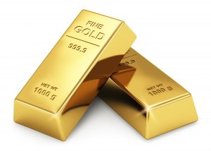 Gold ingots Bars