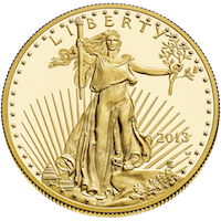 American Gold Eagle Coin Oatmangold