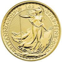 British Britannia Coin